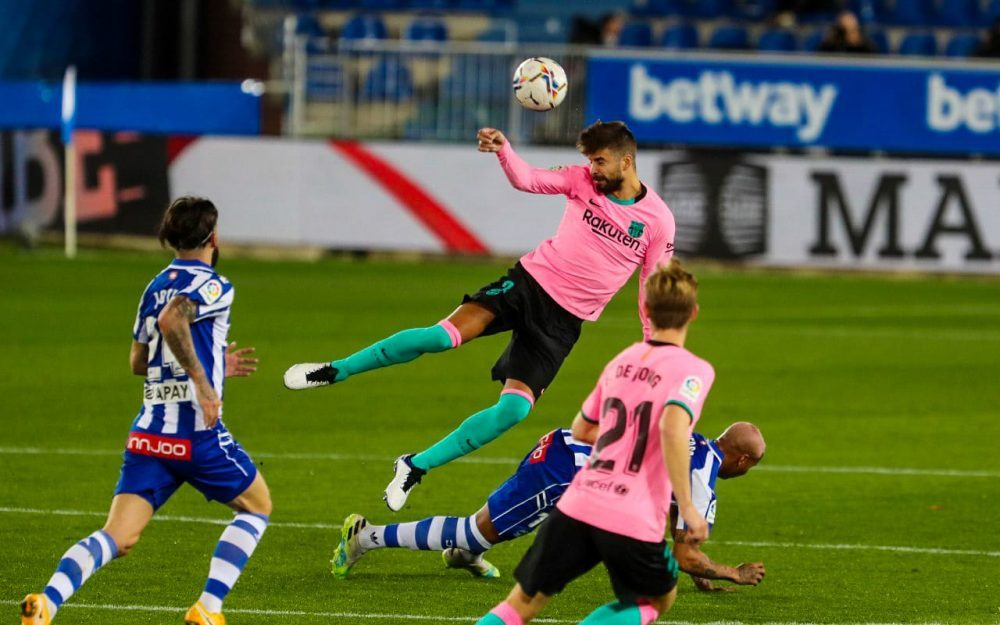 BARCELONA'S WOE CONTINUE AFTER ALAVES DRAW