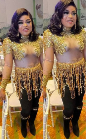 "BOBRISKY FLASHES HIS ""BOOBS"" AS HE STEPS OUT IN SHEER OUTFIT (PHOTOS)"
