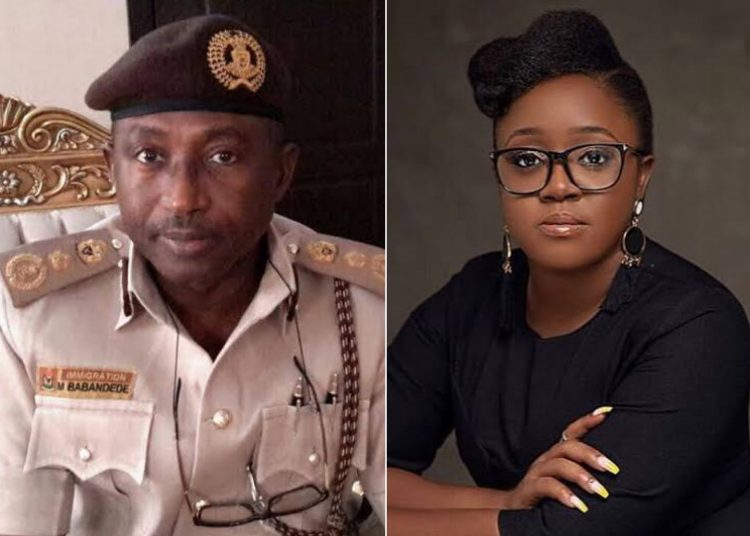 JUST IN: NIS ASKS #ENDSARS PROMOTER, ODELE TO COME FOR HER SEIZED PASSPORT