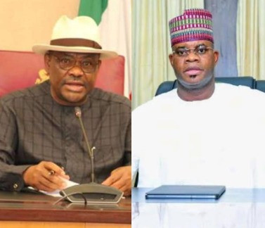 WIKE AND EIGHT MORE PDP GOVERNORS TO JOIN APC – KOGI STATE GOVERNOR, YAHAYA BELLO ALLEGES