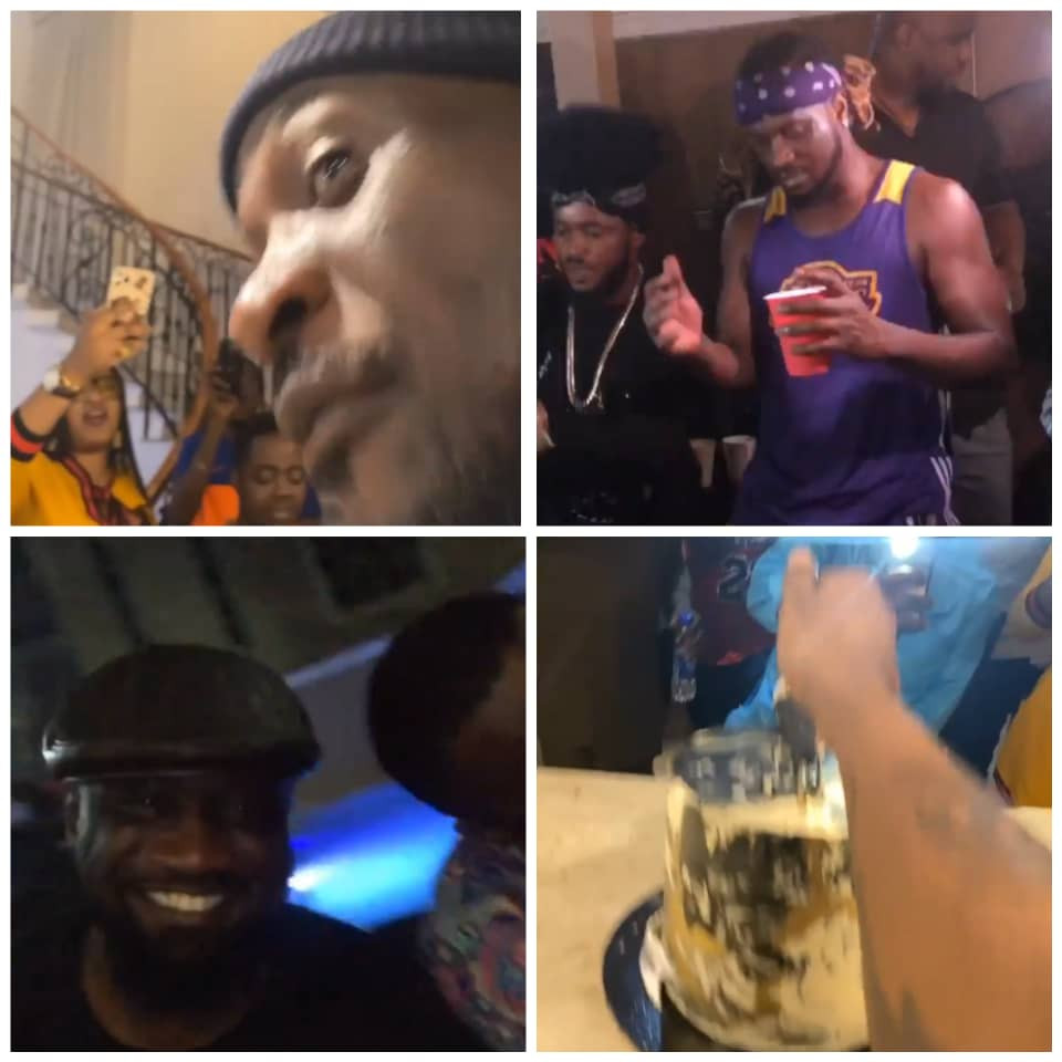 PETER AND PAUL OKOYE CELEBRATED THEIR BIRTHDAYS SEPARATELY WITH FAMILY AND CLOSE FRIENDS