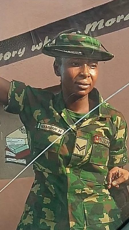FEMALE SOLDIER BEATS UP PHYSICALLY CHALLENGED MAN IN IBADAN