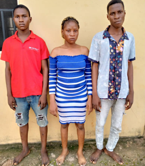 TWO SIBLINGS AND ONE OTHER ARRESTED FOR ATTEMPTING TO KIDNAP THEIR BOSS IN OGUN