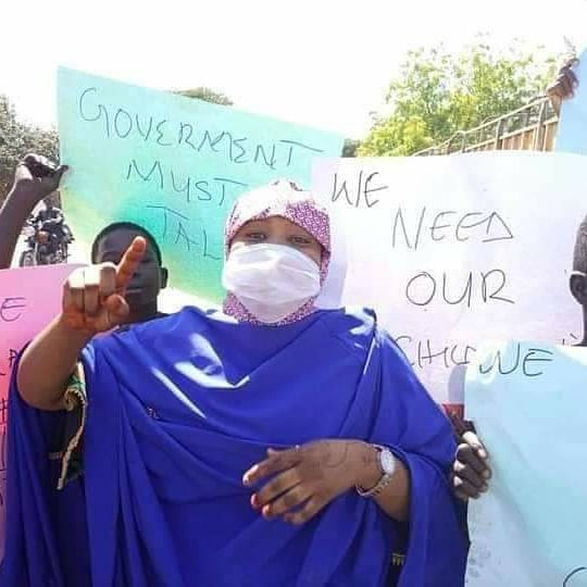 PARENTS OF STUDENTS ABDUCTED IN KATSINA STAGE PROTEST, DEMAND QUICK RESCUE OF THEIR KIDS