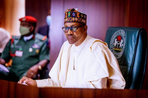 """WE MUST EAT WHAT WE PRODUCE""""- PRESIDENT BUHARI BARS CBN FROM GIVING MONEY TO FOOD IMPORTERS"""
