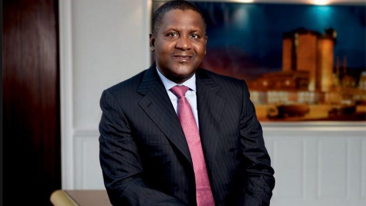 DANGOTE MAINTAINS 1ST POSITION IN AFRICA BILLIONAIRES' LIST
