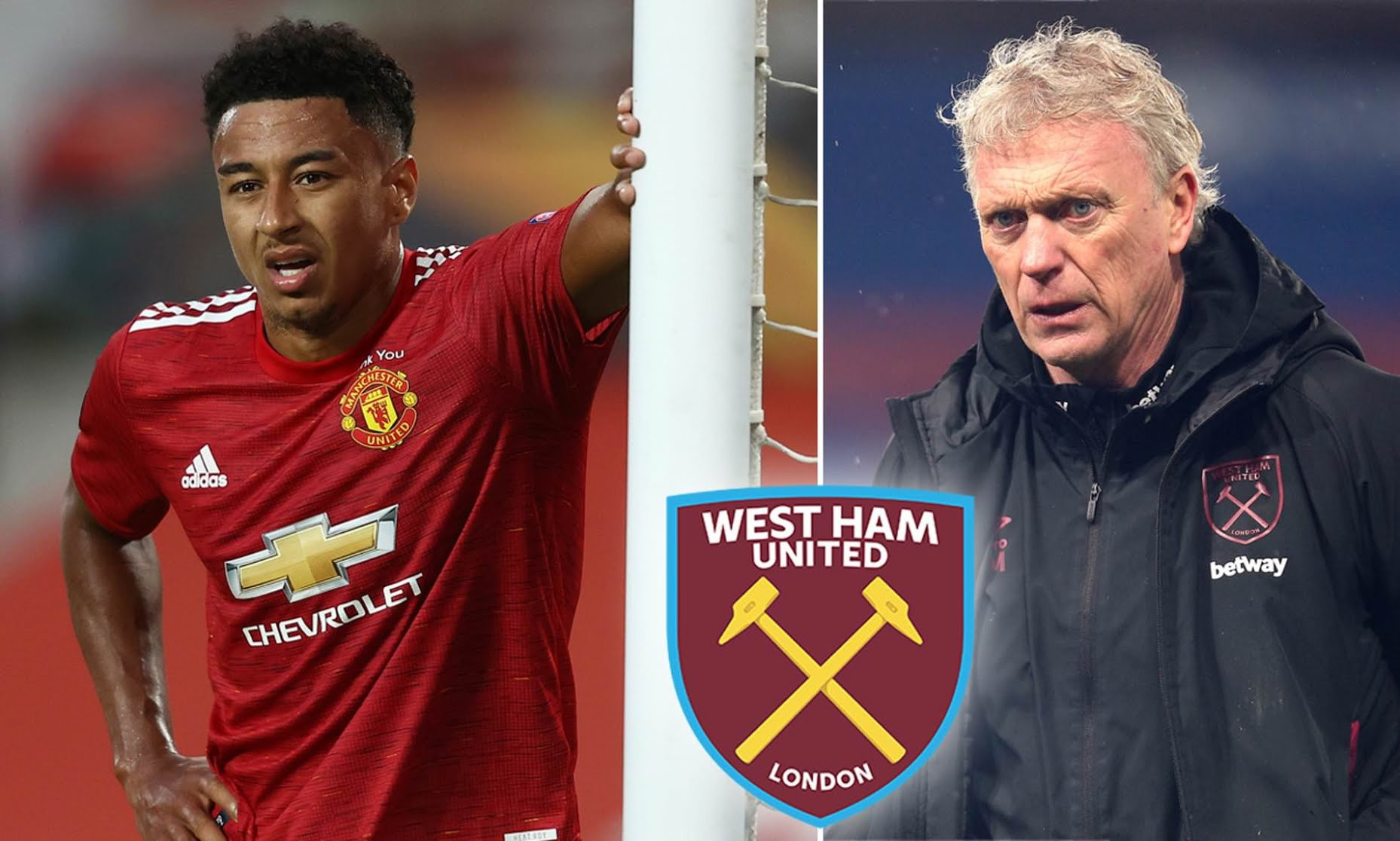 MANCHESTER UNITED PLAYER JESSE LINGARD AGREES LOAN DEAL WITH WEST HAM TILL END OF SEASON