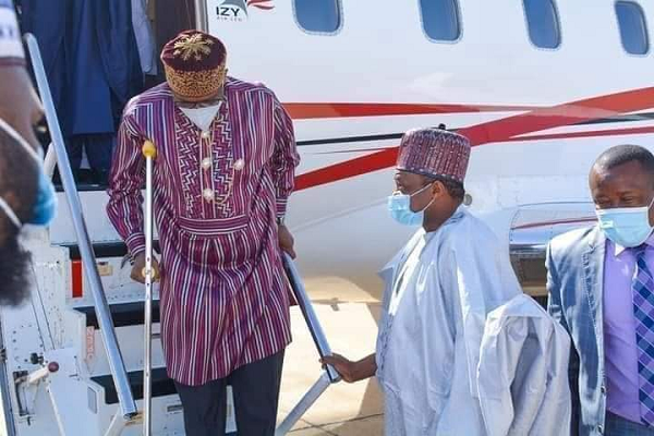 WHY TRANSPORT MINISTER, ROTIMI AMAECHI NOW WALKS WITH CRUTCHES