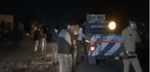 TRUCK RUNS OVER SLEEPING WORKERS, CRUSHES 15 TO DEATH