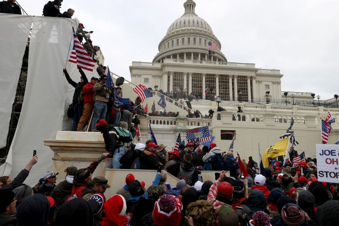 WORLD LEADERS REACT TO U.S. POLITICAL UNREST, INVASION OF CAPITOL BUILDING