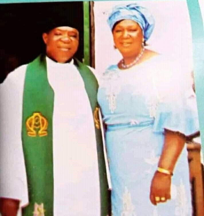 PRIEST, HIS WIFE AND THEIR MAID DIE IN THEIR SLEEP AFTER ATTENDING CRUSADE.PHOTOS