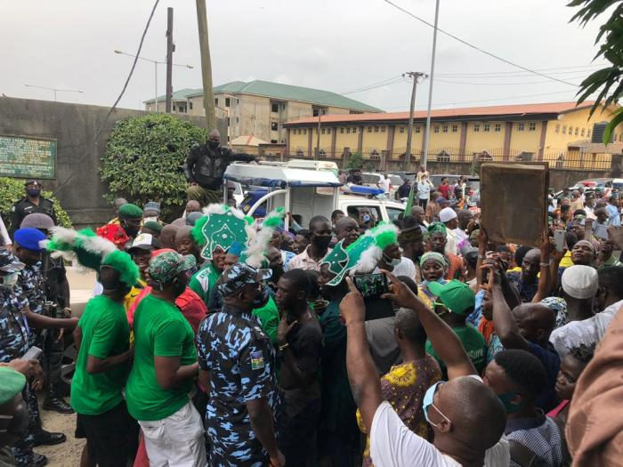 PICTURES FROM LATEEF JAKANDE'S BURIAL IN LAGOS