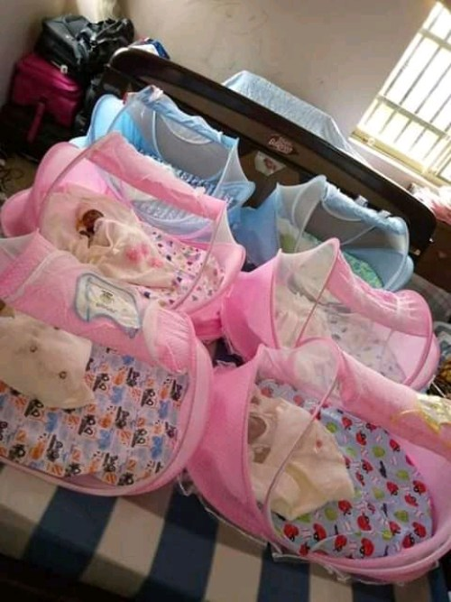 BAYELSA WOMAN DELIVERS SEXTUPLETS SIX YEARS AFTER HAVING TWINS