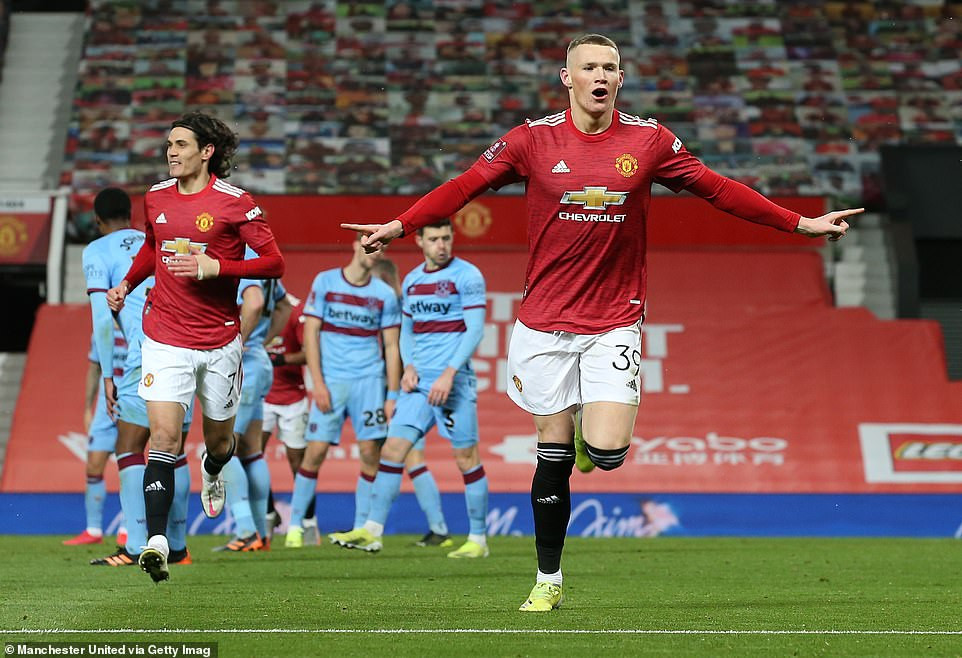 FA CUP: MANCHESTER UNITED BEAT WEST HAM 1-0 IN EXTRA TIME TO ADVANCE TO QUARTER FINALS