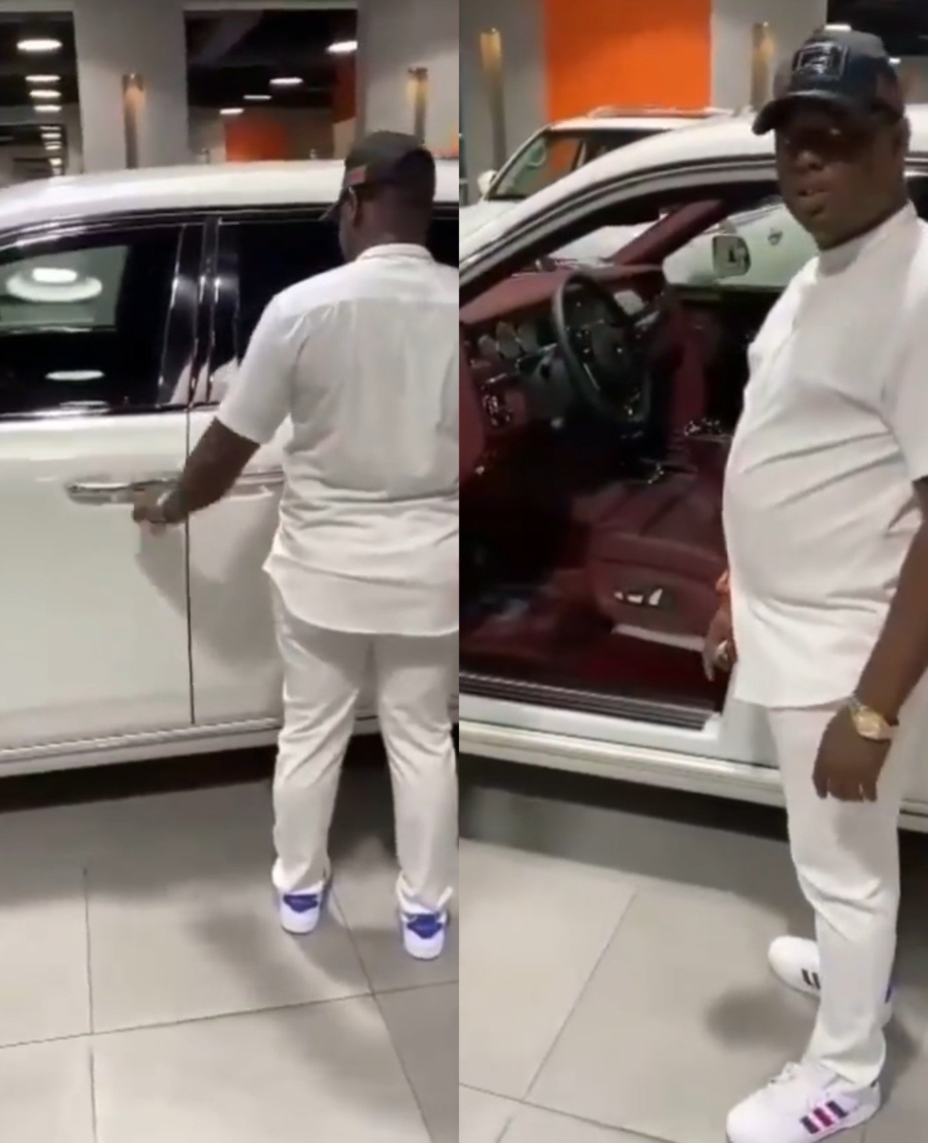 """""""LET EFCC COME, LET FBI COME, WE'LL SETTLE THEM,"""" OBIEZE NESTOR SAYS WHILE BUYING ROLLS ROYCE PHANTOM 8 2020 MODEL WEEKS BEFORE HE DIED IN DUBAI POLICE CUSTODY"""