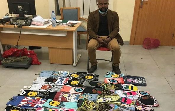 BUSTED: DRUG TRAFFICKER ONYEKACHI CONCEALS N7B COCAINE IN 68 T-SHIRTS