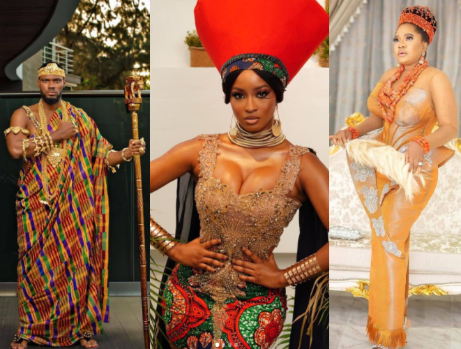 SEE HOW YOUR FAVOURITE CELEBS SHOWED UP FOR THE PREMIERE OF THE 'COMING 2 AMERICA' IN LAGOS (PHOTOS