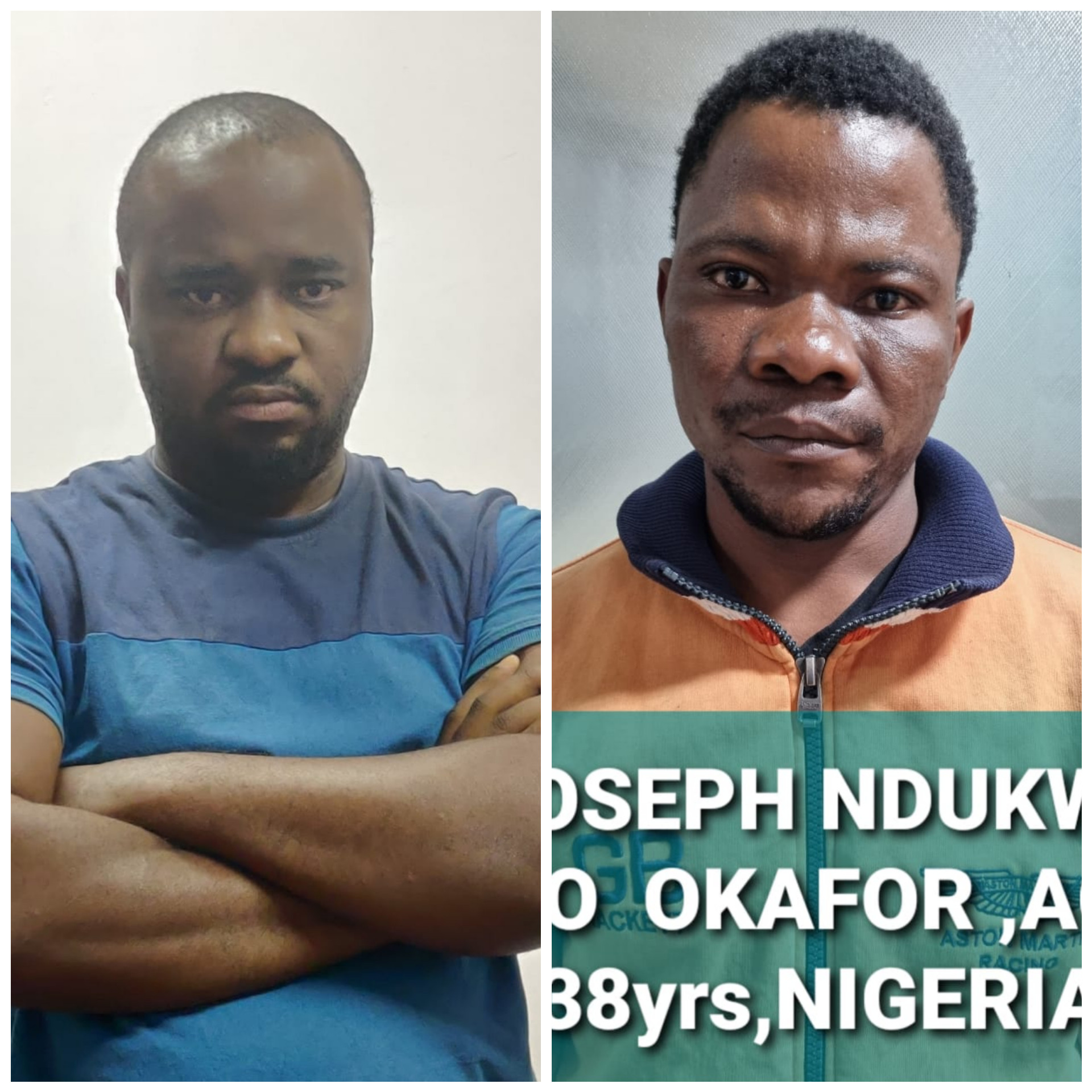 TWO NIGERIAN NATIONALS ARRESTED IN INDIA WITH DRUGS WORTH OVER N34M .PHOTOS