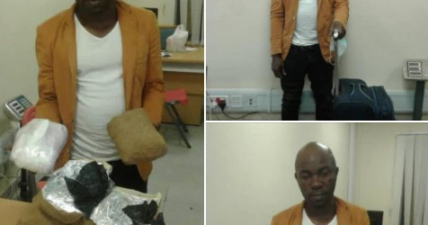 NDLEA intercepts over N2bn worth of illicit drugs at Lagos airport.PHOTOS