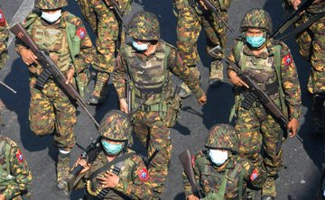 MYANMAR COUP: MILITARY OPEN FIRE WITH LIVE ROUNDS ON UNARMED PROTESTERS KILLING AT LEAST 18 AND INJURING OVER 30 (PHOTOS/VIDEOS)