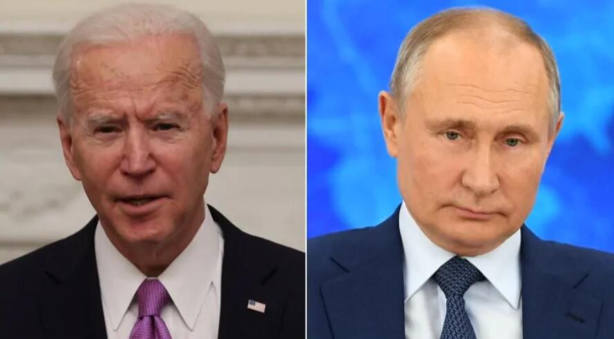 UPDATE: PUTIN INVITES BIDEN TO 'LIVE ONLINE DISCUSSION' SAYING IT'LL BE INTERESTING FOR RUSSIANS, US AND THE WORLD TO WATCH