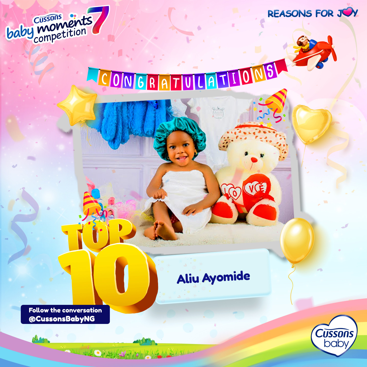 CUSSONS BABY MOMENTS SEASON 7 – MEET THE TOP 10 FINALISTS! (PHOTOS)