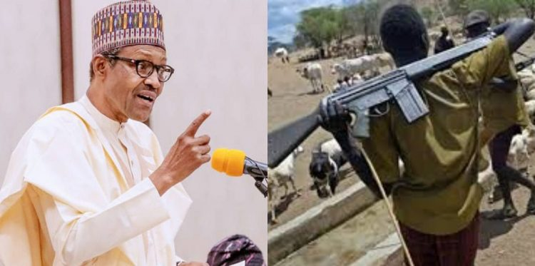 BUHARI ORDERS SECURITY FORCES TO SHOOT ON SIGHT ANYONE WITH AK-47