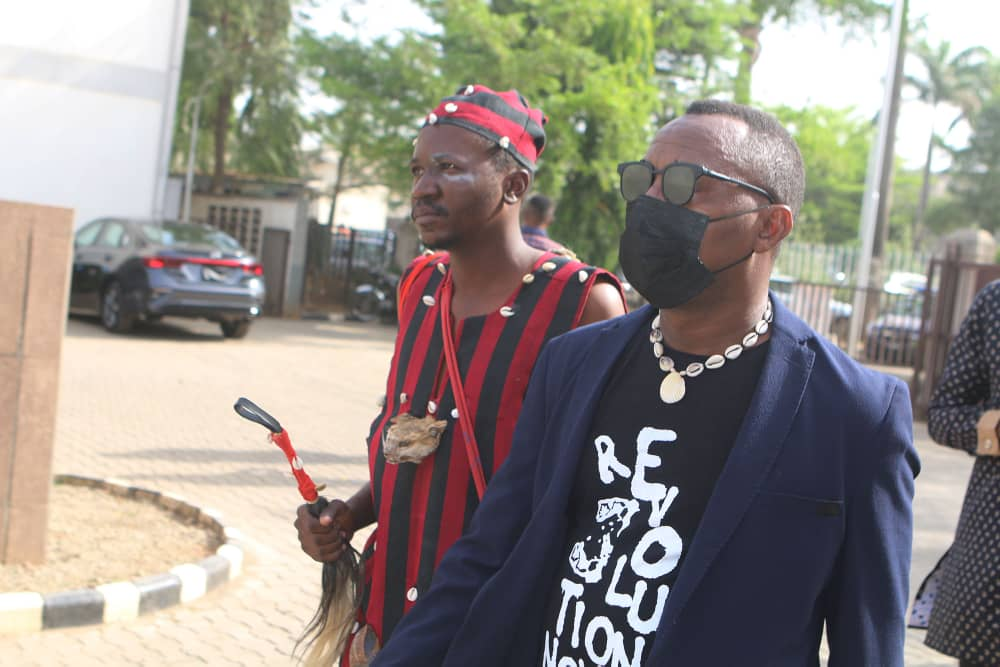 PHOTOS: SOWORE STORMS COURT WITH HERBALIST