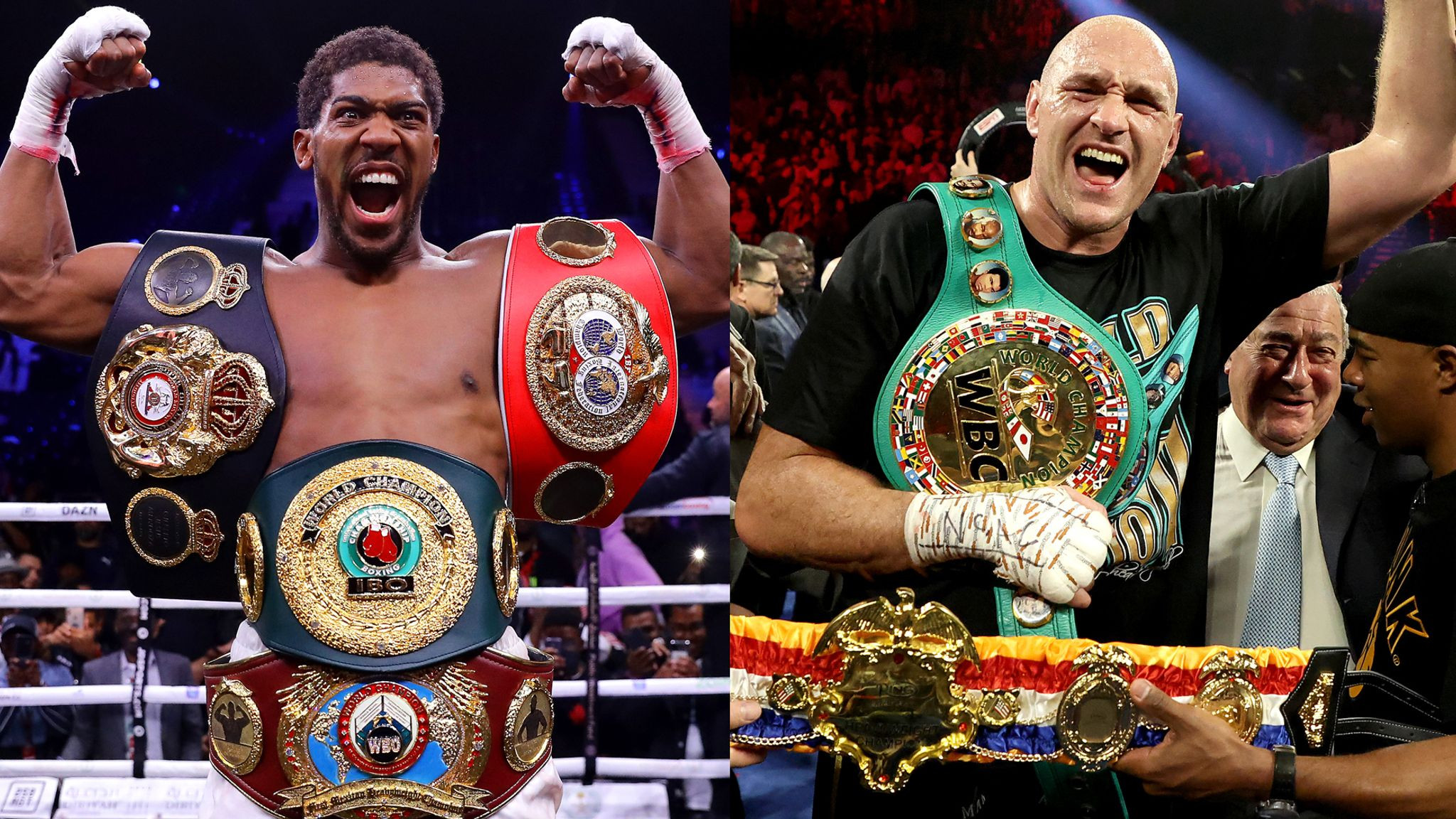 THE BIGGEST BRITISH FIGHT OF ALL TIME IS ON! ANTHONY JOSHUA AND TYSON FURY FINALLY SIGN THEIR £200M TWO-FIGHT CONTRACT