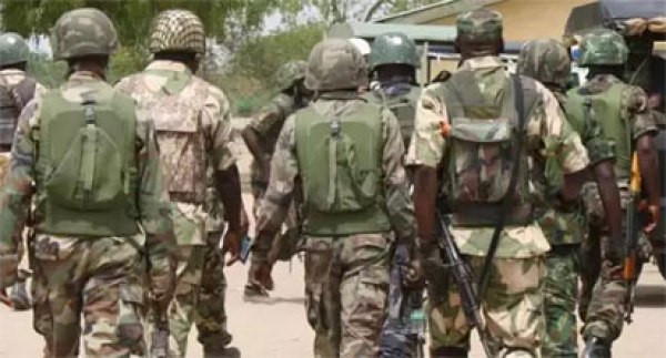 SOLDIERS PROTEST POOR EQUIPMENT AND UNPAID ALLOWANCES IN BORNO