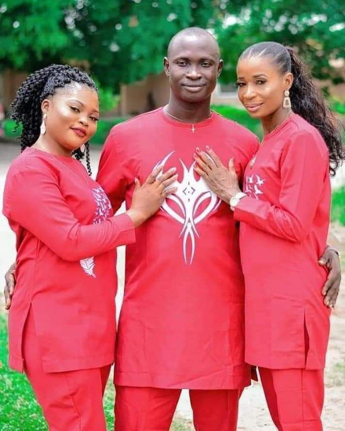 DELTA STATE MAN SET TO WED TWO WOMEN ON SAME DAY…SEE THEIR PRE-WEDDING PHOTO