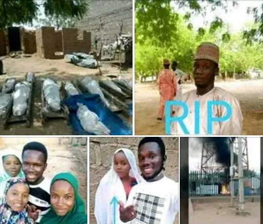 BOKO HARAM REPORTEDLY SLAUGHTERS RESIDENTS INCLUDING SCHOOL TEACHER, ELEVEN MEMBERS OF A FAMILY IN GEIDAM, YOBE. PHOTOS