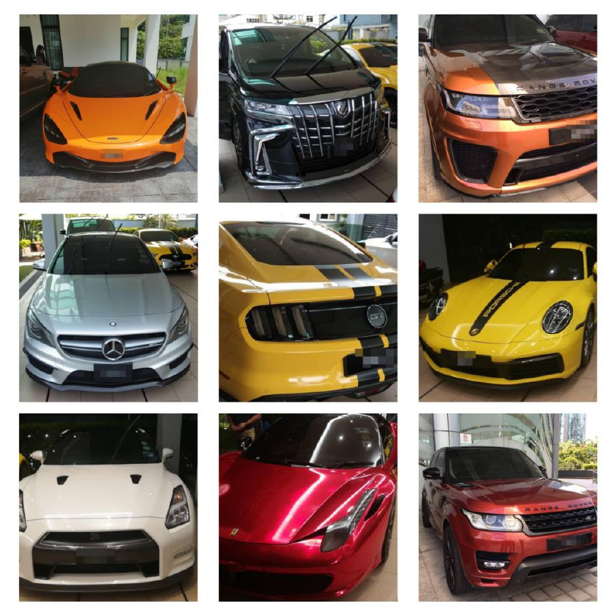 MALAYSIAN ANTI-CORRUPTION AGENCY SEIZES CASH, LUXURY CARS, YACHT, HELICOPTERS FROM HEAD OF A CARTEL THAT MONOPOLIZED GOVT TENDERS . PHOTOS