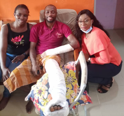 NIGERIAN MAN SHARES HIS CHILLING EXPERIENCE WITH KIDNAPPERS IN BENIN.PHOTOS
