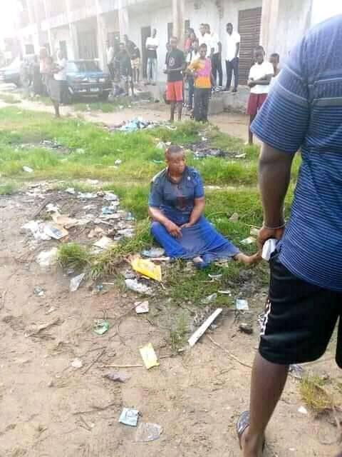 UPDATE: PHOTO OF THE 'MENTALLY CHALLENGED' WOMAN WHO STABBED 14-YEAR-OLD BOY TO DEATH IN BAYELSA. PHOTOS