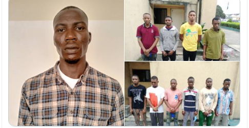 COURT CONVICTS 11 INTERNET FRAUDSTERS IN PORT HARCOURT (PHOTOS)