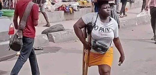 LAGOS WITHHOLDS N25MILLION DONATION AFTER DETECTING LIES IN VIRAL AMPUTEE HAWKER'S CLAIM (PHOTOS)
