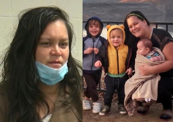"""""""I DROWNED THEM, I DID IT AS SOFTLY AS I COULD""""- MOM ADMITS TO KILLING HER THREE YOUNG CHILDREN IN CHILLING JAIL INTERVIEW (PHOTOS)"""