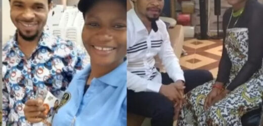 UPDATE..CLERGY MAN, ODUMEJE FORGIVES COMEDIENNE, ADA JESUS THEN OFFERS HER FAMILY 1 MILLION NAIRA TO ADD TOWARDS HER TREATMENT (PHOTOS)