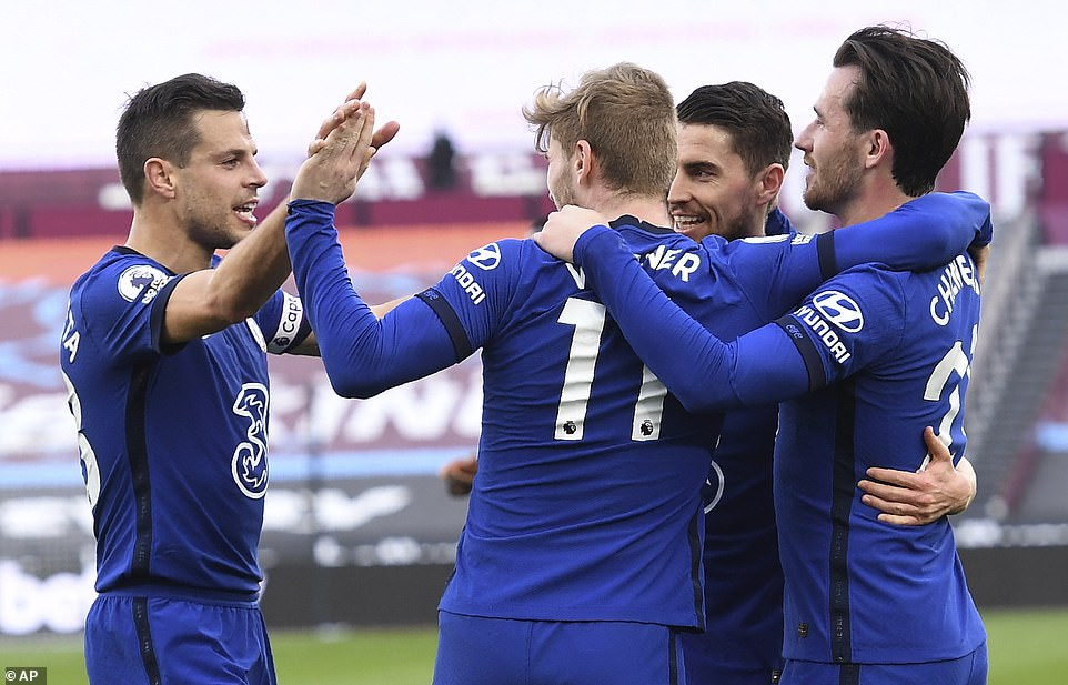 WEST HAM UNITED 0-1 CHELSEA: TIMO WERNER EARNS BLUES VITAL WIN IN RACE FOR TOP FOUR(PHOTOS)