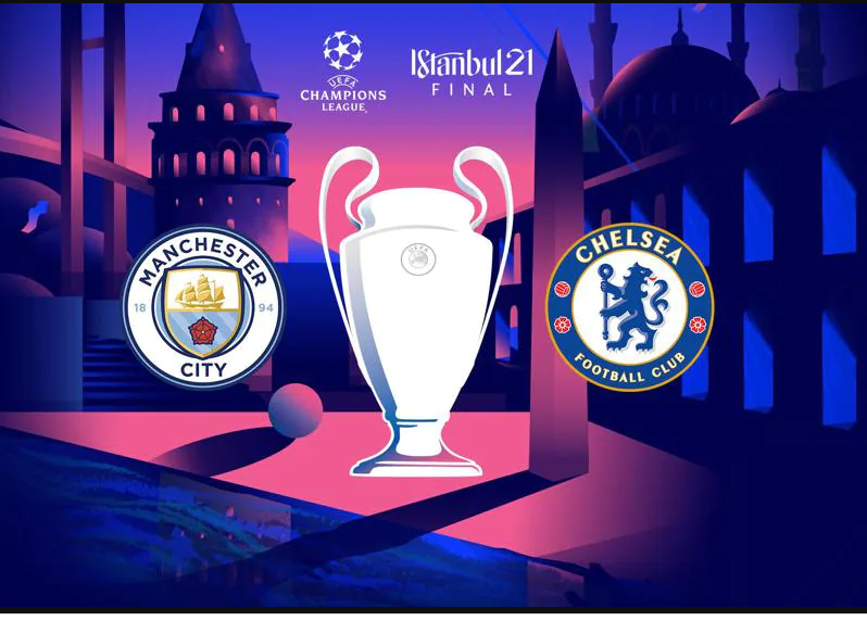 CHAMPIONS LEAGUE FINAL BETWEEN MANCHESTER CITY AND CHELSEA MOVED TO PORTUGAL FROM TURKEY. PHOTOS