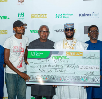 D'banj's Cream Platform and Heritage Bank dole out millions at April 2021 draw as new winners emerge. photos
