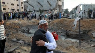 109 PALESTINIANS AND 7 ISRAELIS KILLED AS FIGHT BETWEEN ISRAEL AND HAMAS ENTERS FIFTH DAY (PHOTOS)