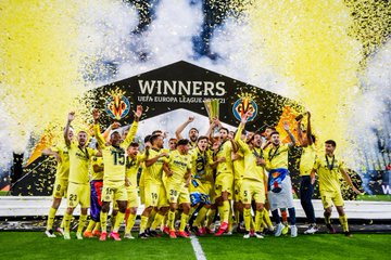 VILLARREAL CROWNED EUROPA LEAGUE CHAMPIONS AFTER BEATING MANCHESTER UNITED 11-10 IN TENSE PENALTY SHOOTOUT (PHOTOS)