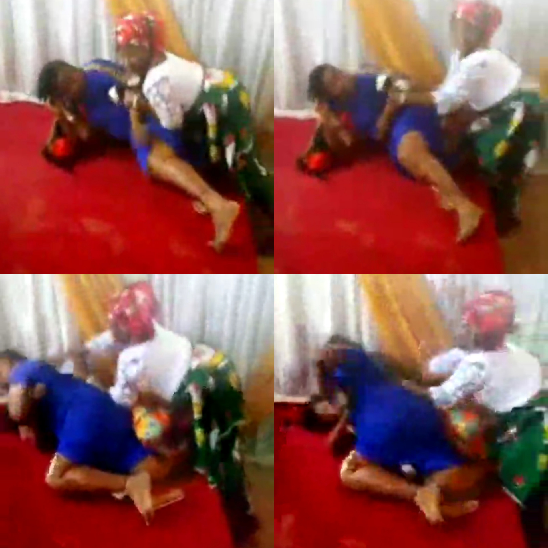TRENDING VIDEO OF 'PASTOR'S WIFE AND A FEMALE MEMBER' FIGHT DIRTY INSIDE A CHURCH IN UMUAHIA (PHOTOS)