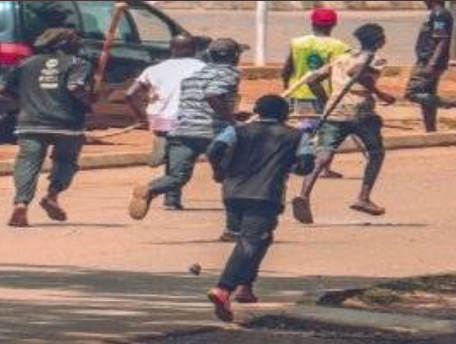 FRESH PROTEST IN ABUJA TURNS VIOLENT (PHOTOS)