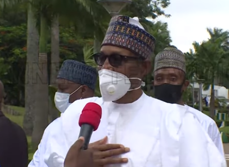 INSECURITY: WE ARE WORKING VERY HARD, I HOPE NIGERIANS WILL UNDERSTAND- PRESIDENT BUHARI (PHOTO)