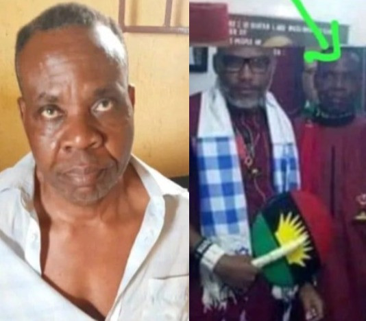 SECURITY FORCES ARREST ANOTHER IPOB/ESN HENCHMAN. PHOTOS