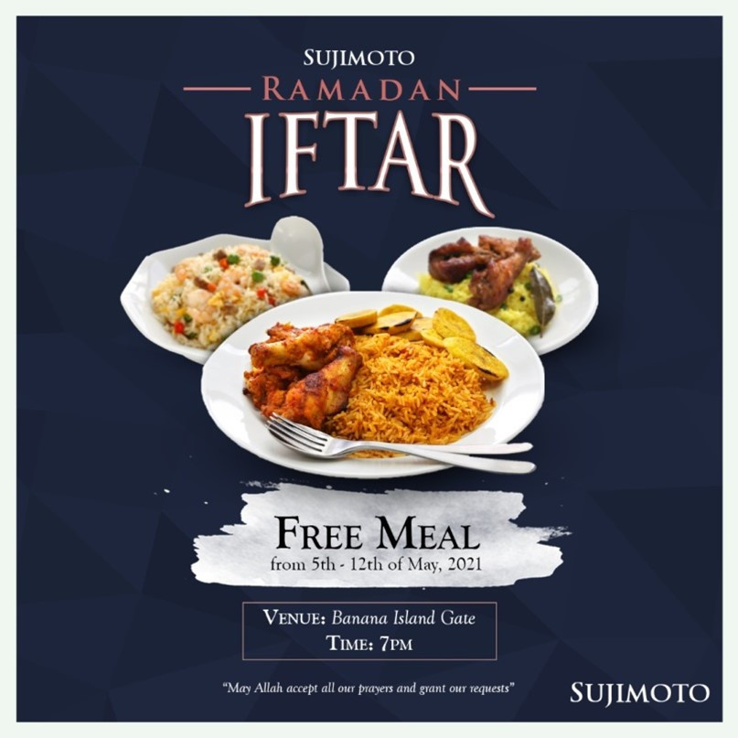 SUJIMOTO PROVIDES IFTAR FOR OVER 5000 MUSLIMS THIS HOLY MONTH (PHOTOS)