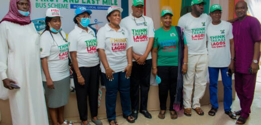PHOTOS: LAGOS STATE LAUNCHES FIRST AND LAST MILE BUS SCHEME TO SUFFICE FOR THE BAN OF TRICYCLES AND BIKES (OKADA)
